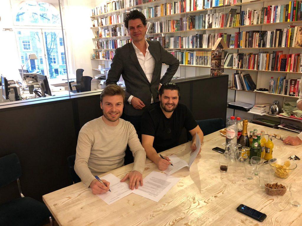 Met Thomas Rijsman en Nordin Ghoudanni