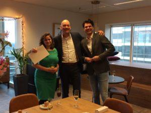 Roselinde Bouman, Floris Kleine en MB bij De Boekerij